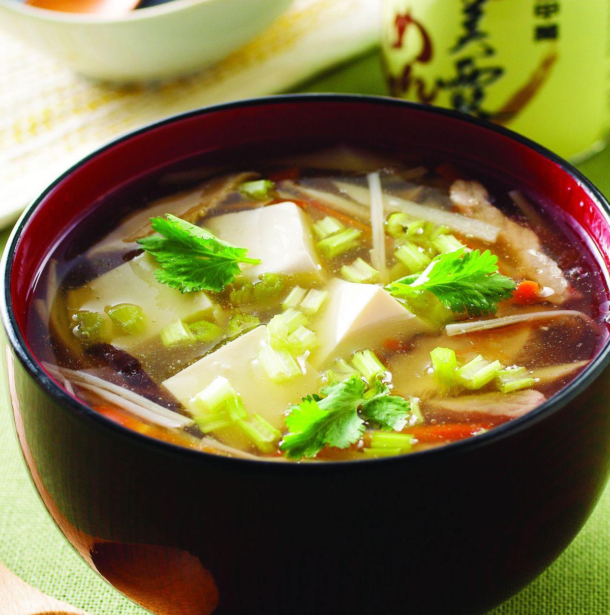 食譜:鮮美豆腐羹