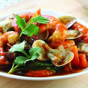 泰式酸辣海鮮(1)
