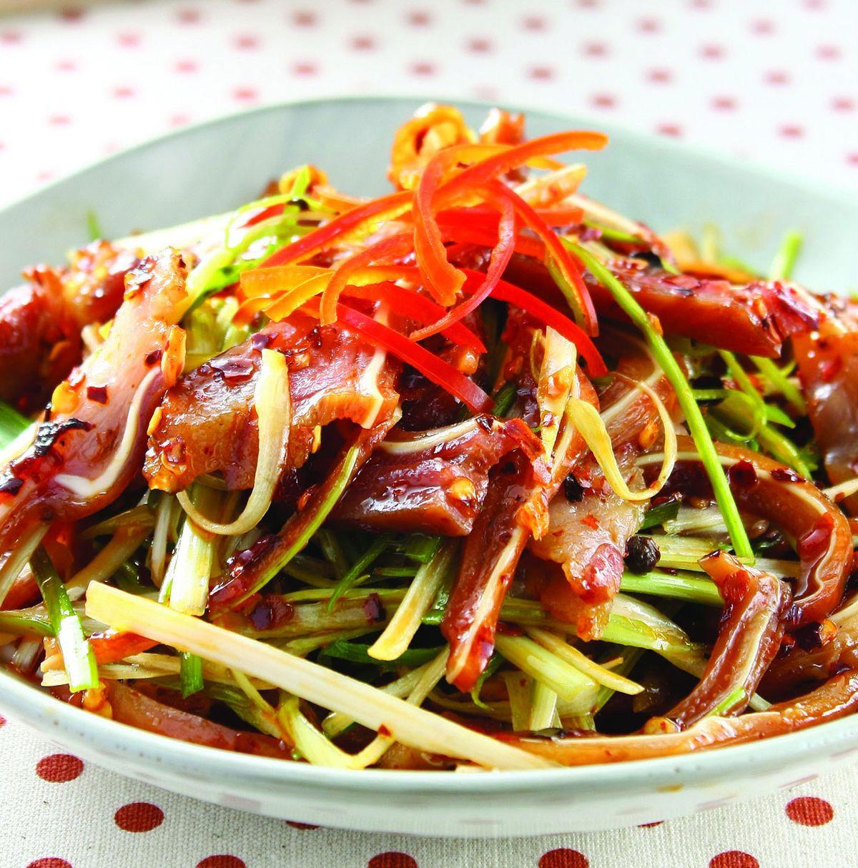 食譜:紅油豬耳(1)