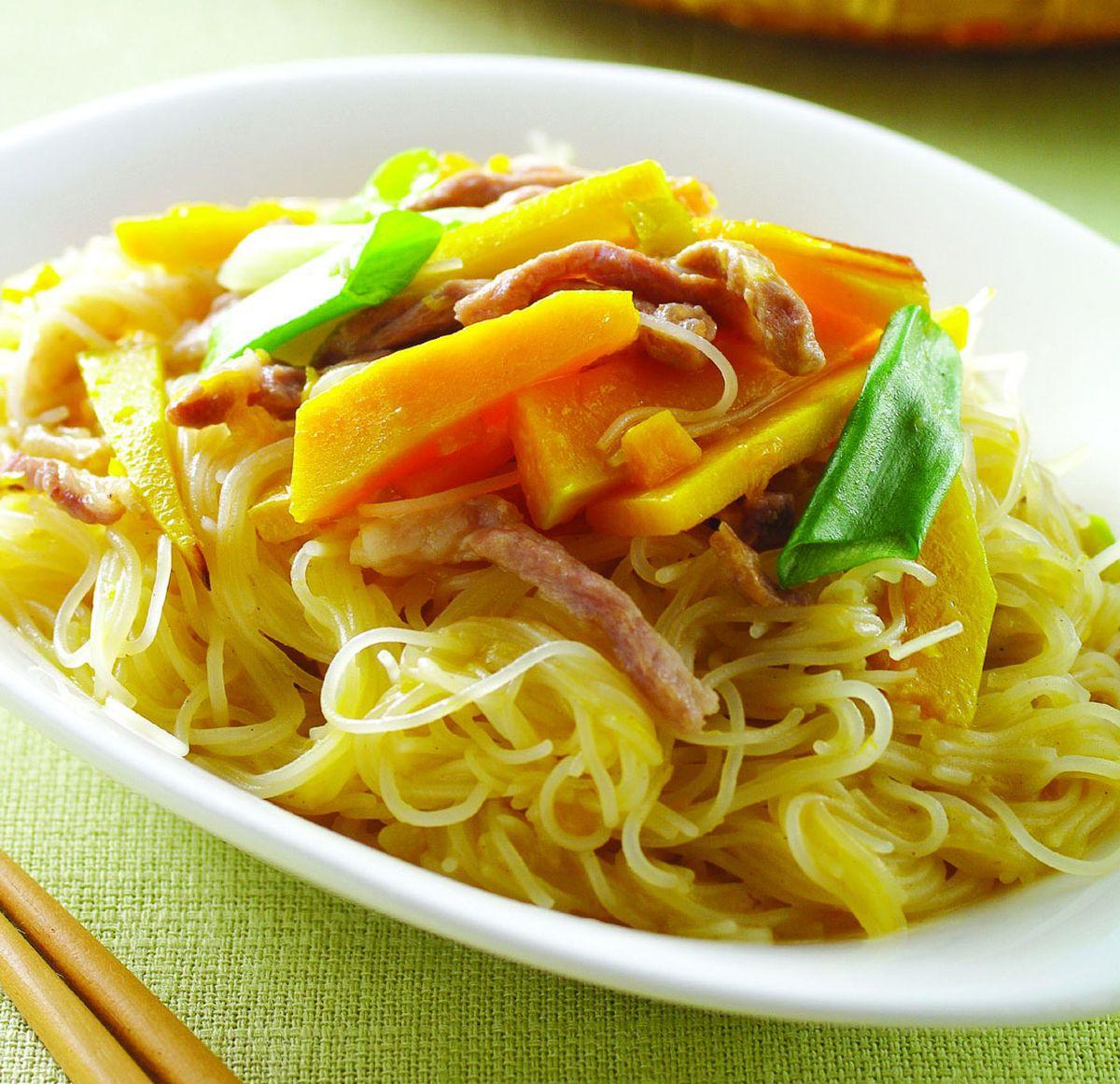 食譜:南瓜炒米粉(3)
