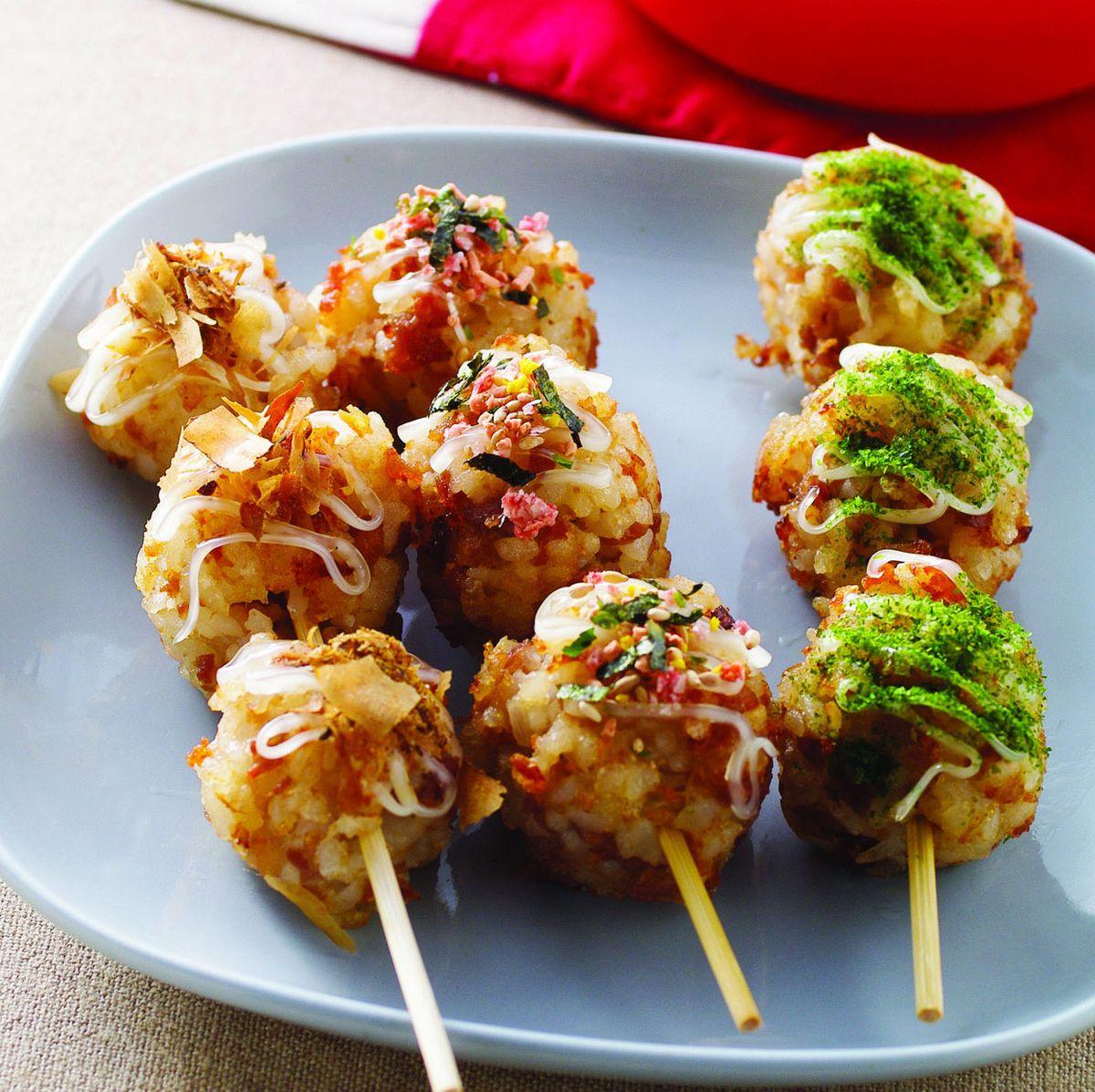 食譜:米丸子三兄弟