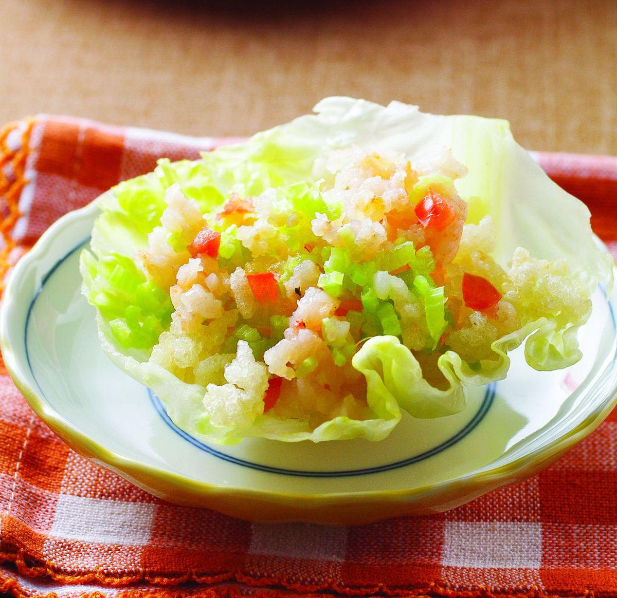 食譜:脆米蝦鬆