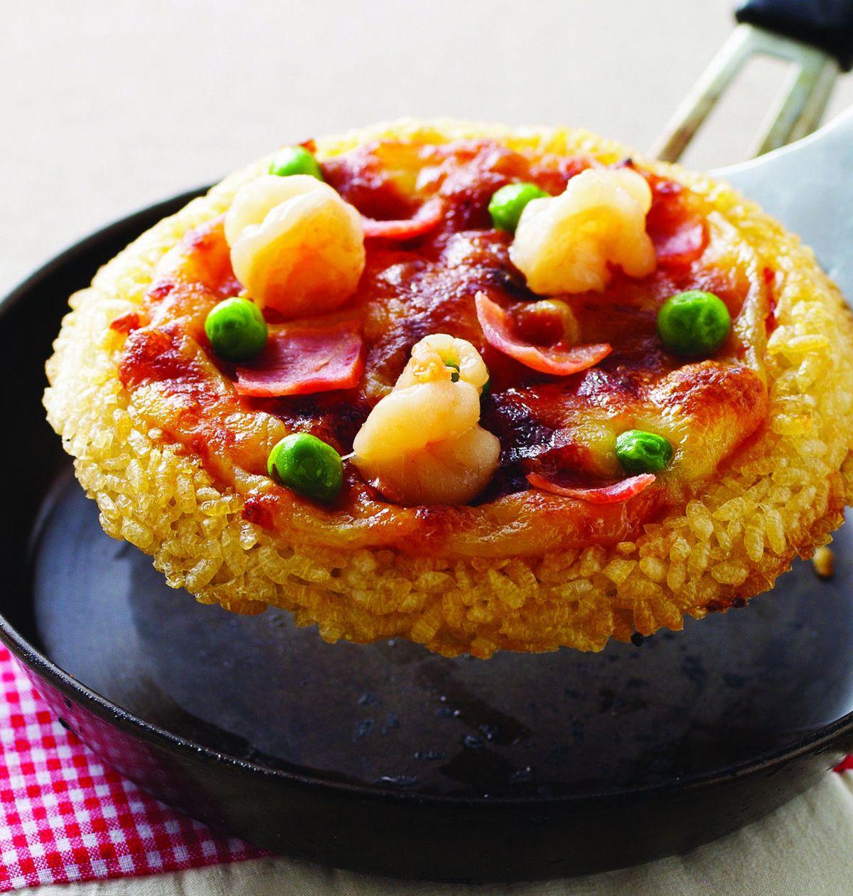 食譜:米飯披薩(1)