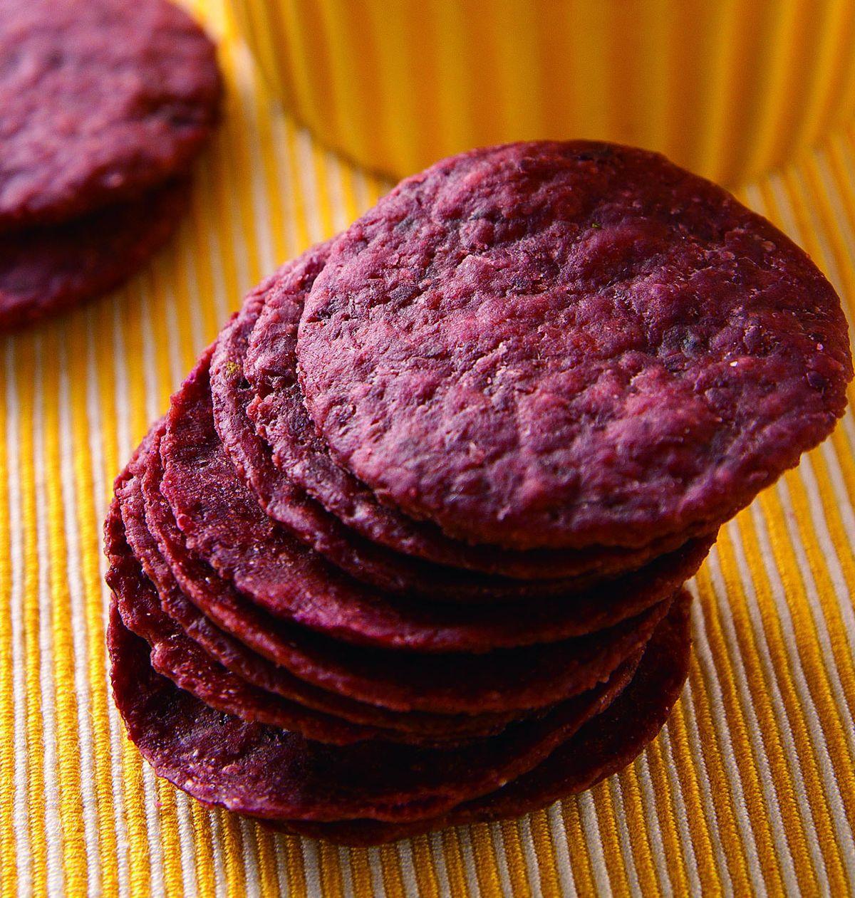 食譜:紫地瓜薄餅
