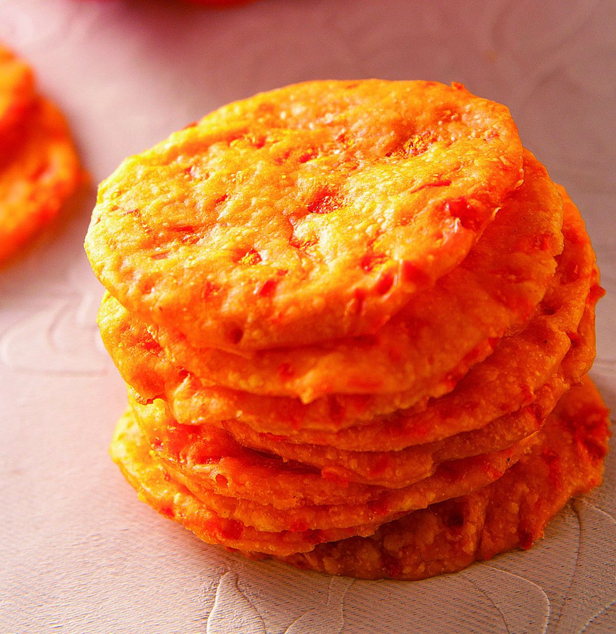 食譜:紅甜椒薄餅