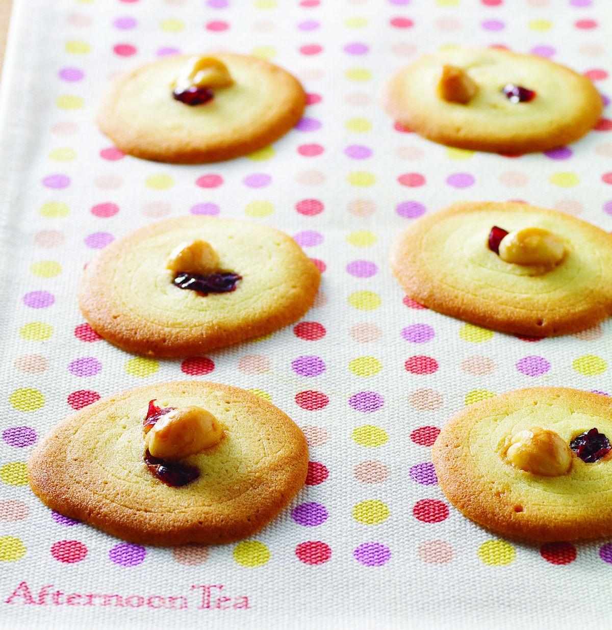 食譜:夏威夷豆蔓越莓餅乾
