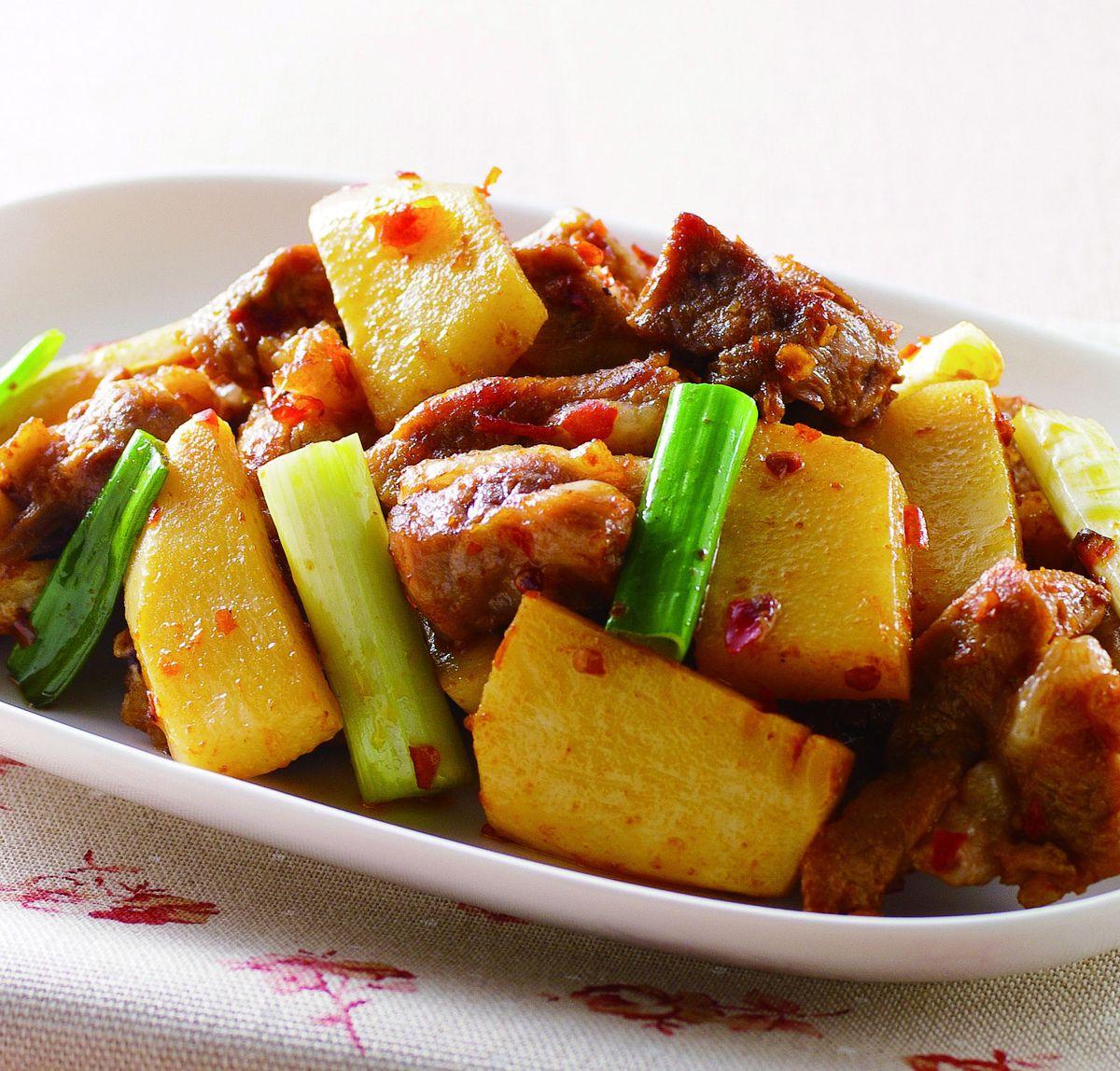 食譜:醬燒排骨(1)