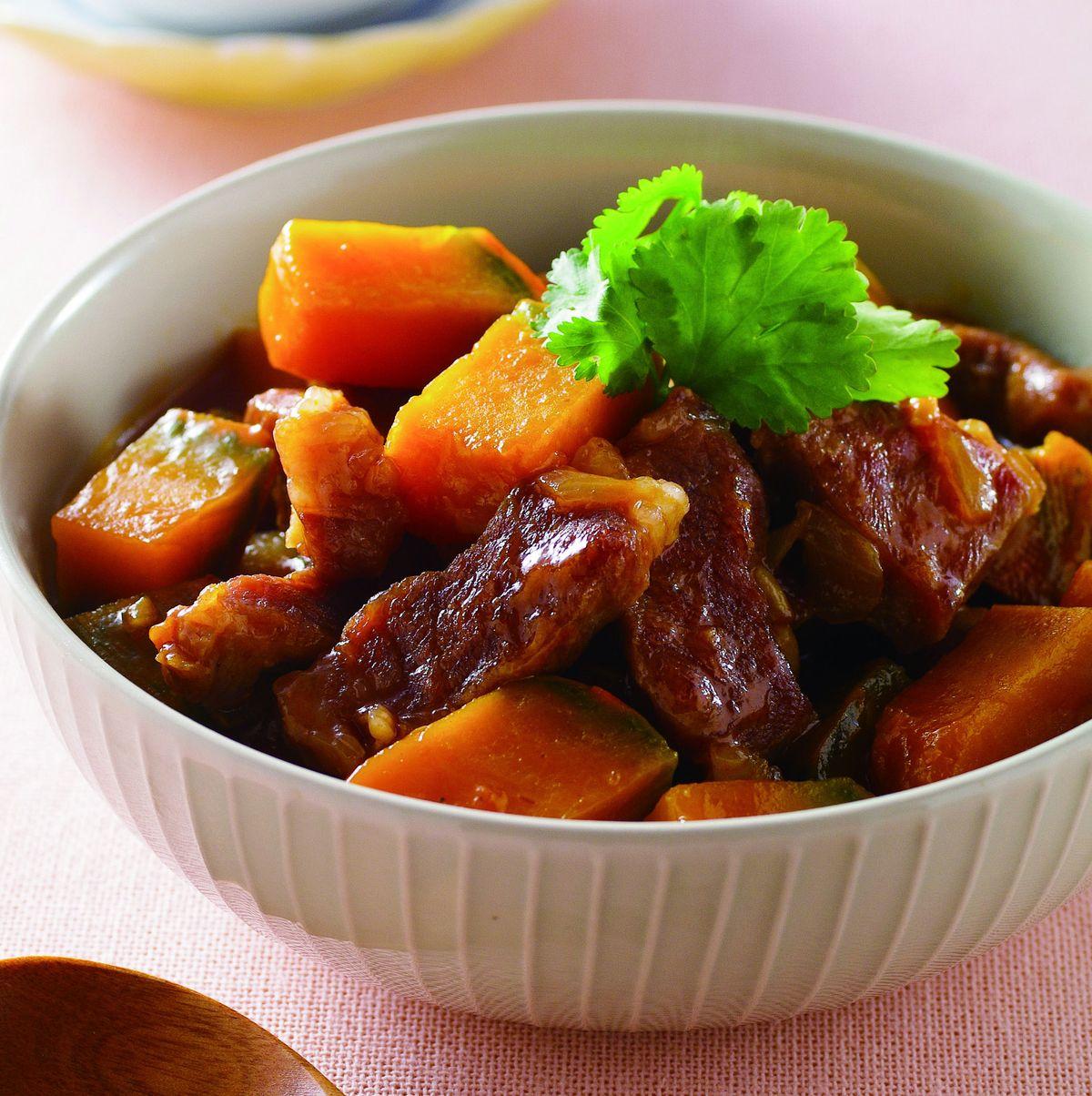 食譜:南瓜燒肉(1)