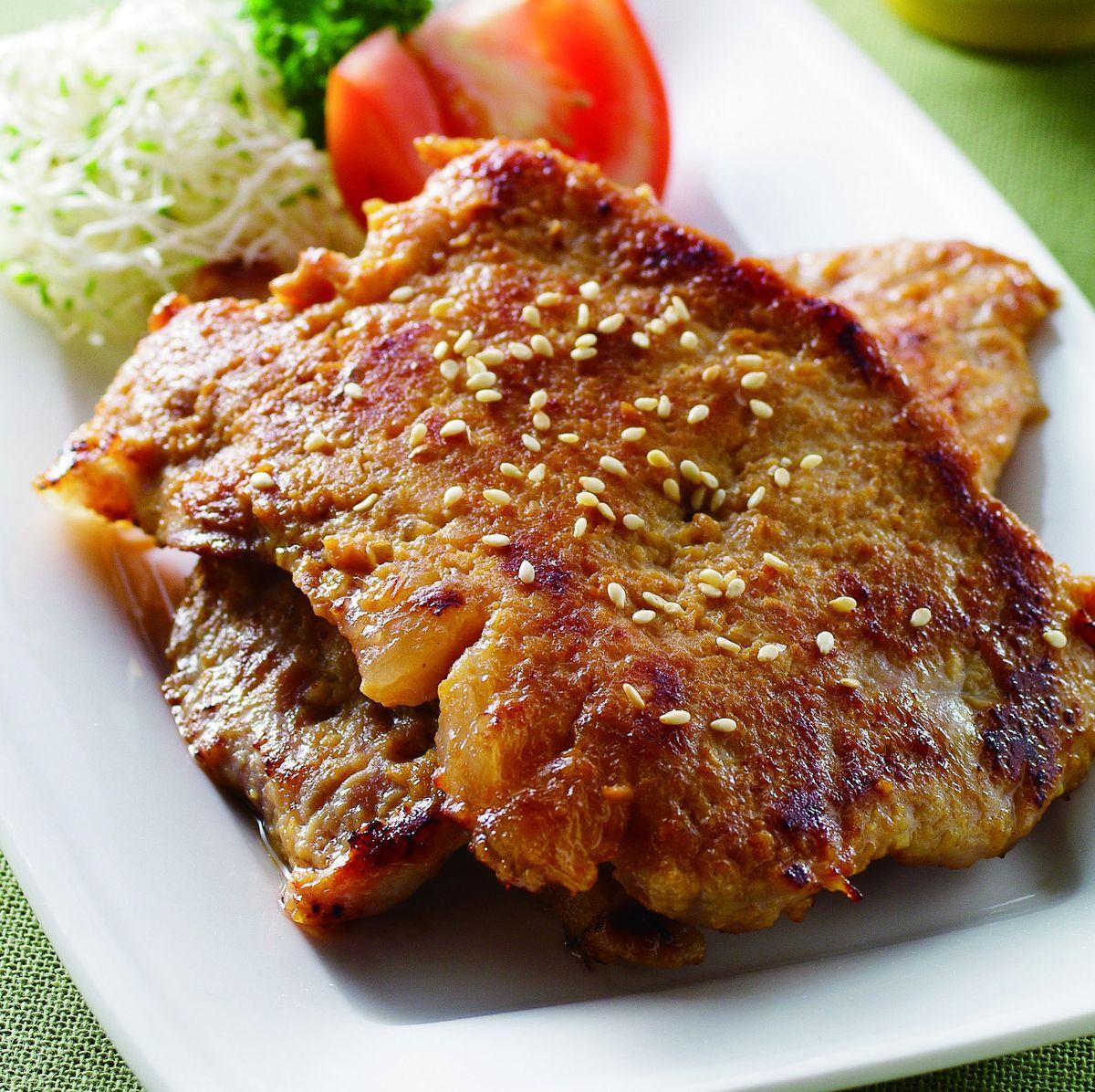 食譜:香煎味噌豬排
