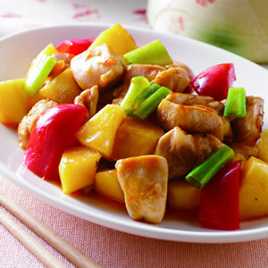 蘋果雞丁(1)
