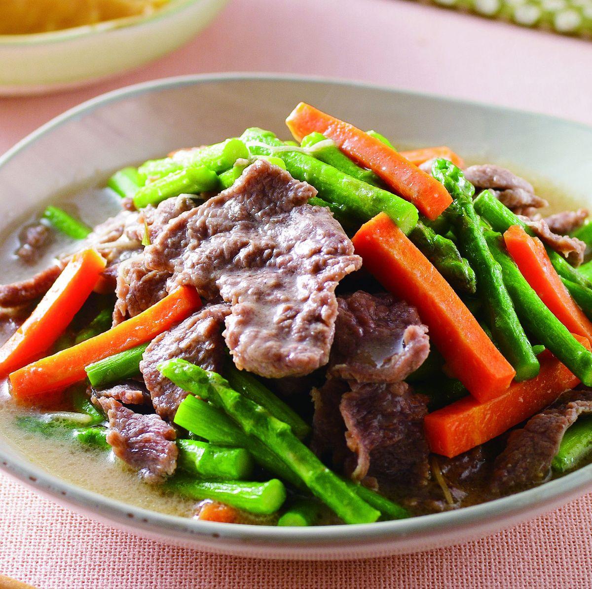 食譜:蘆筍牛肉