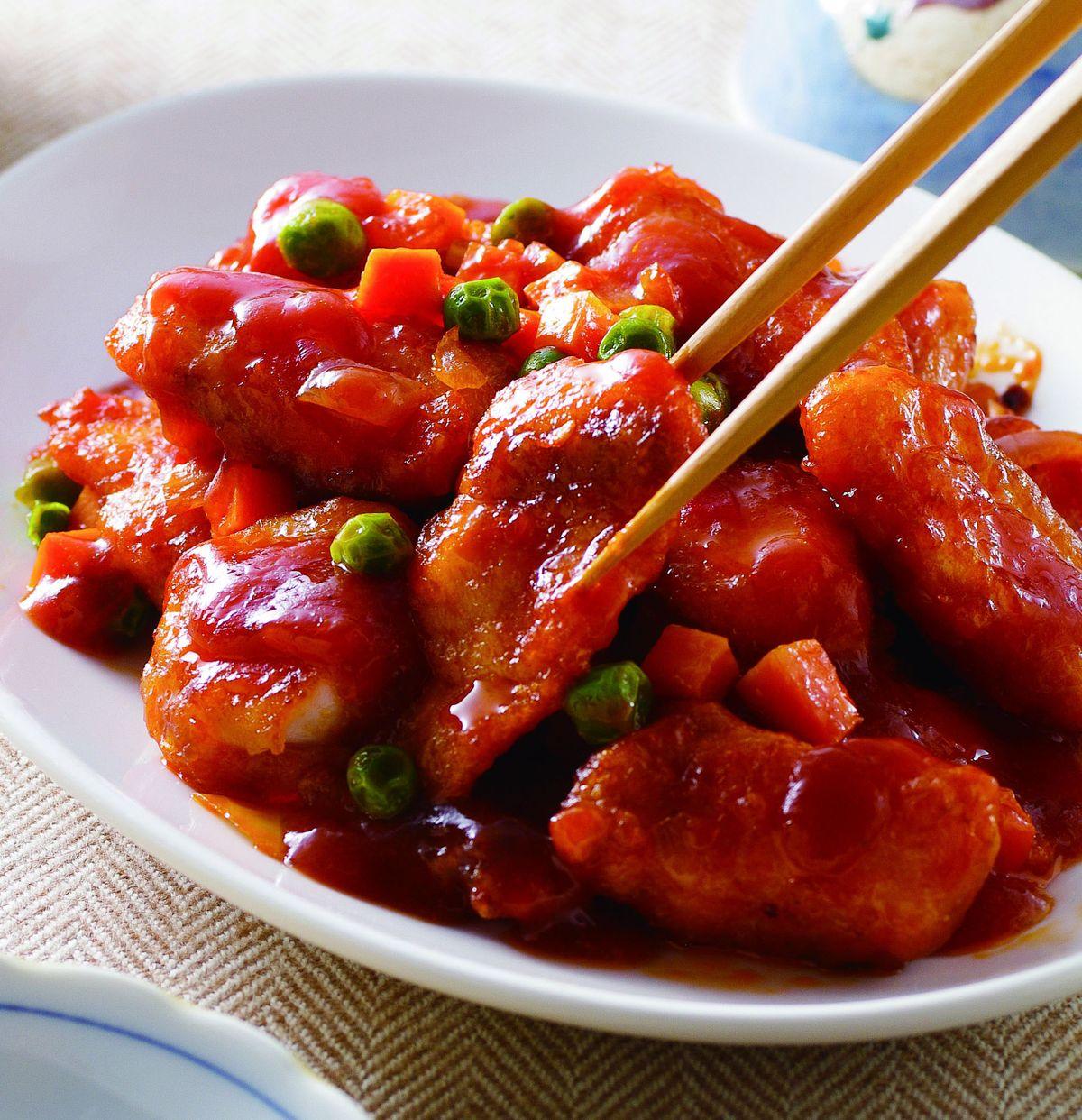 食譜:蕃茄溜魚片