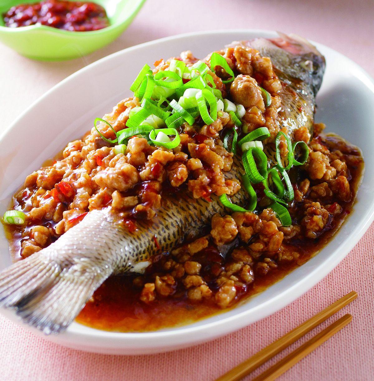 食譜:豆瓣蒸魚(1)