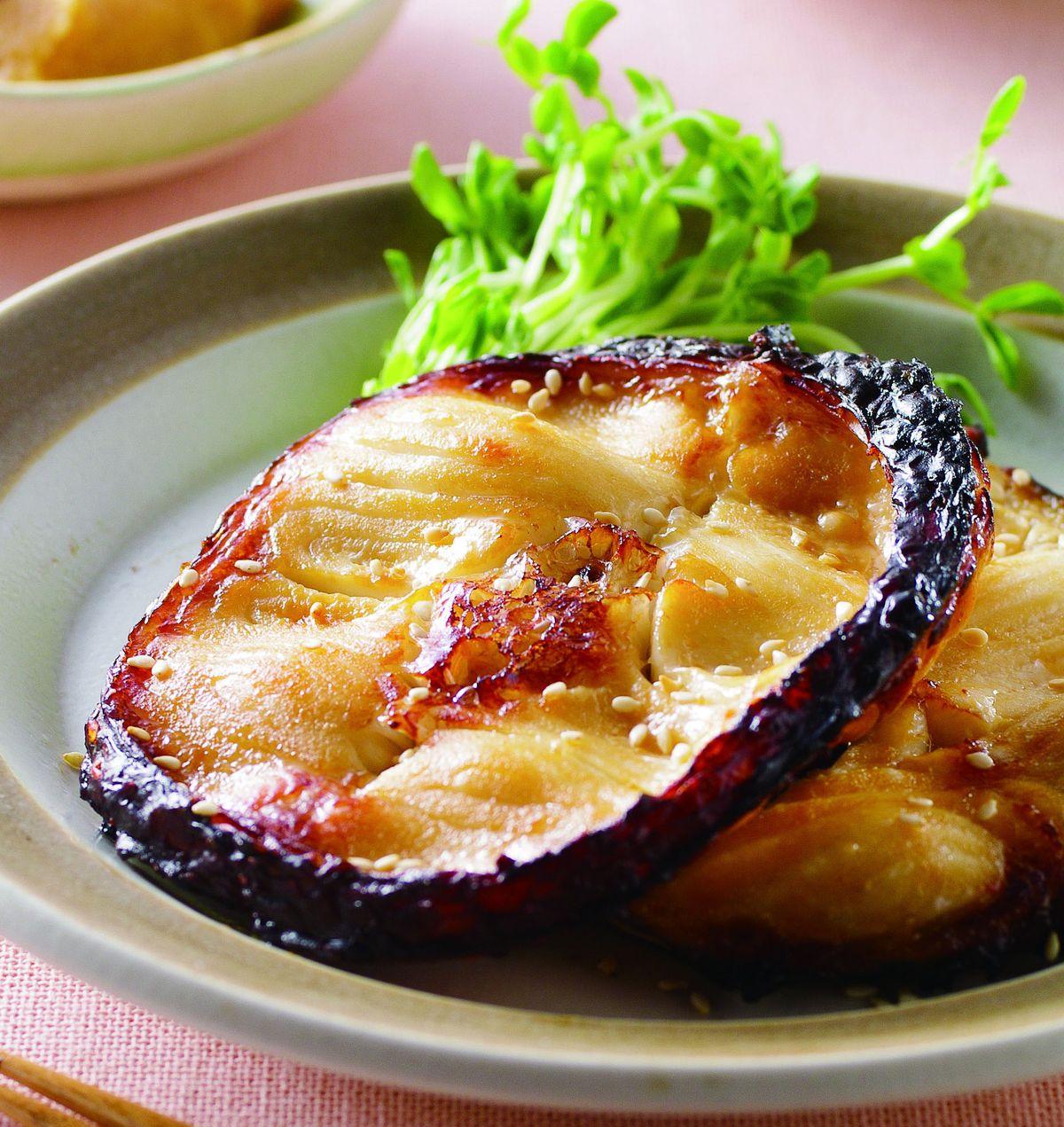 食譜:烤味噌魚