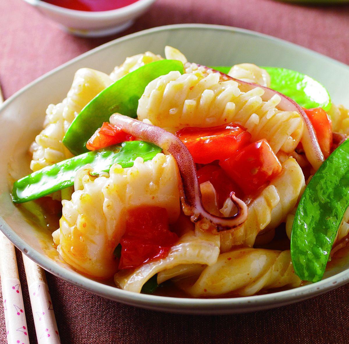食譜:辣醬魷魚