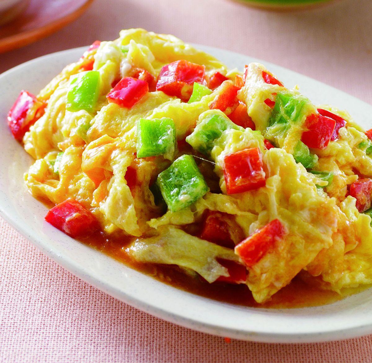 食譜:甜椒炒蛋