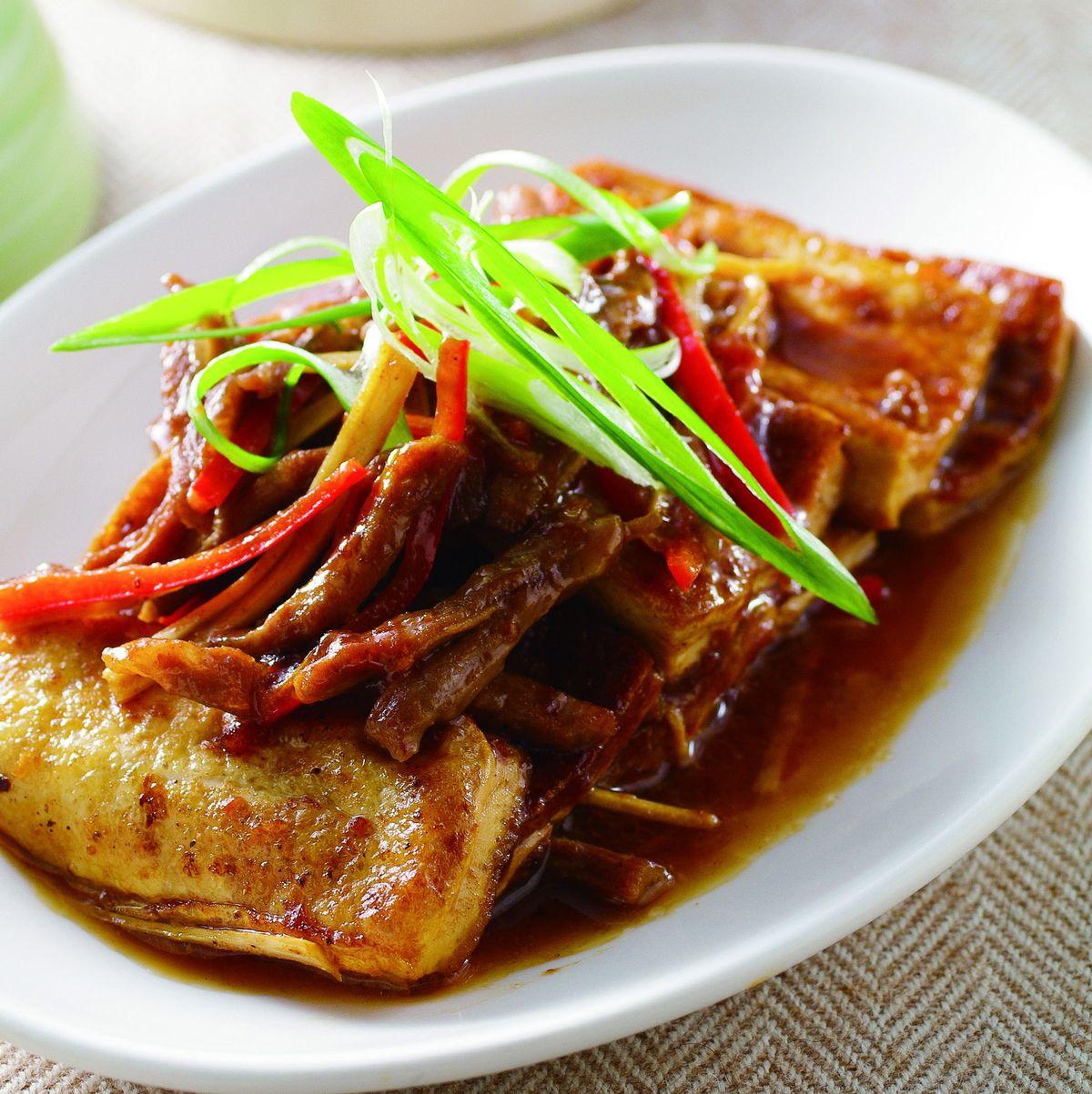 食譜:家常豆腐(6)
