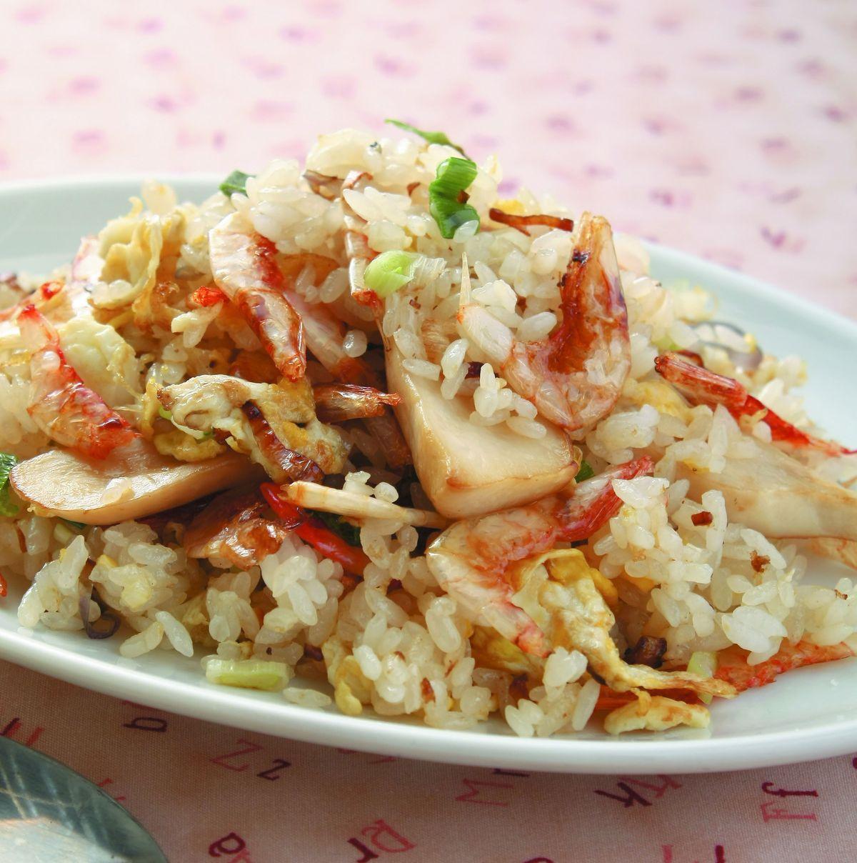 食譜:櫻花蝦炒飯