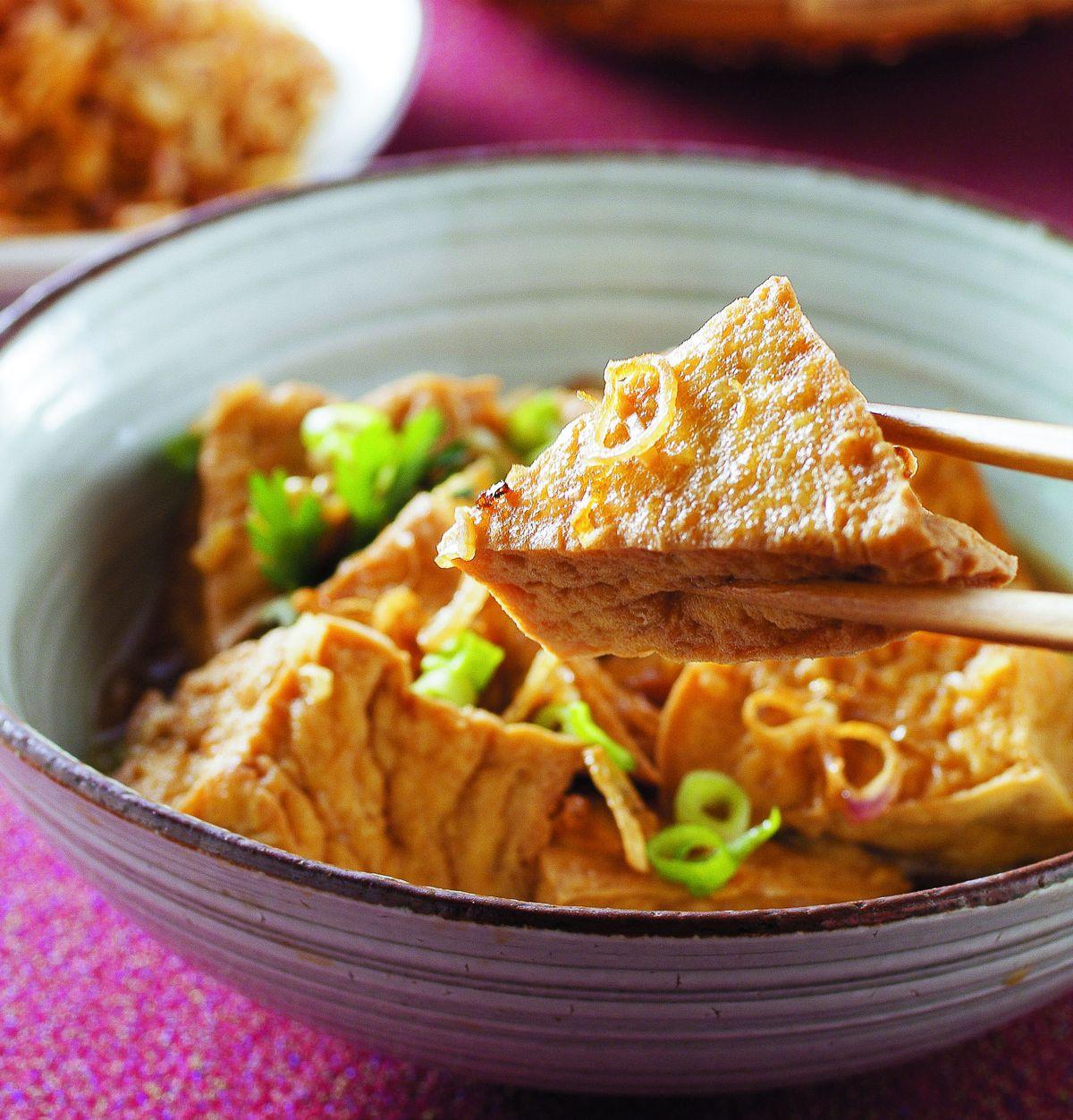 食譜:油蔥酥滷油豆腐