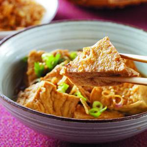 油蔥酥滷油豆腐