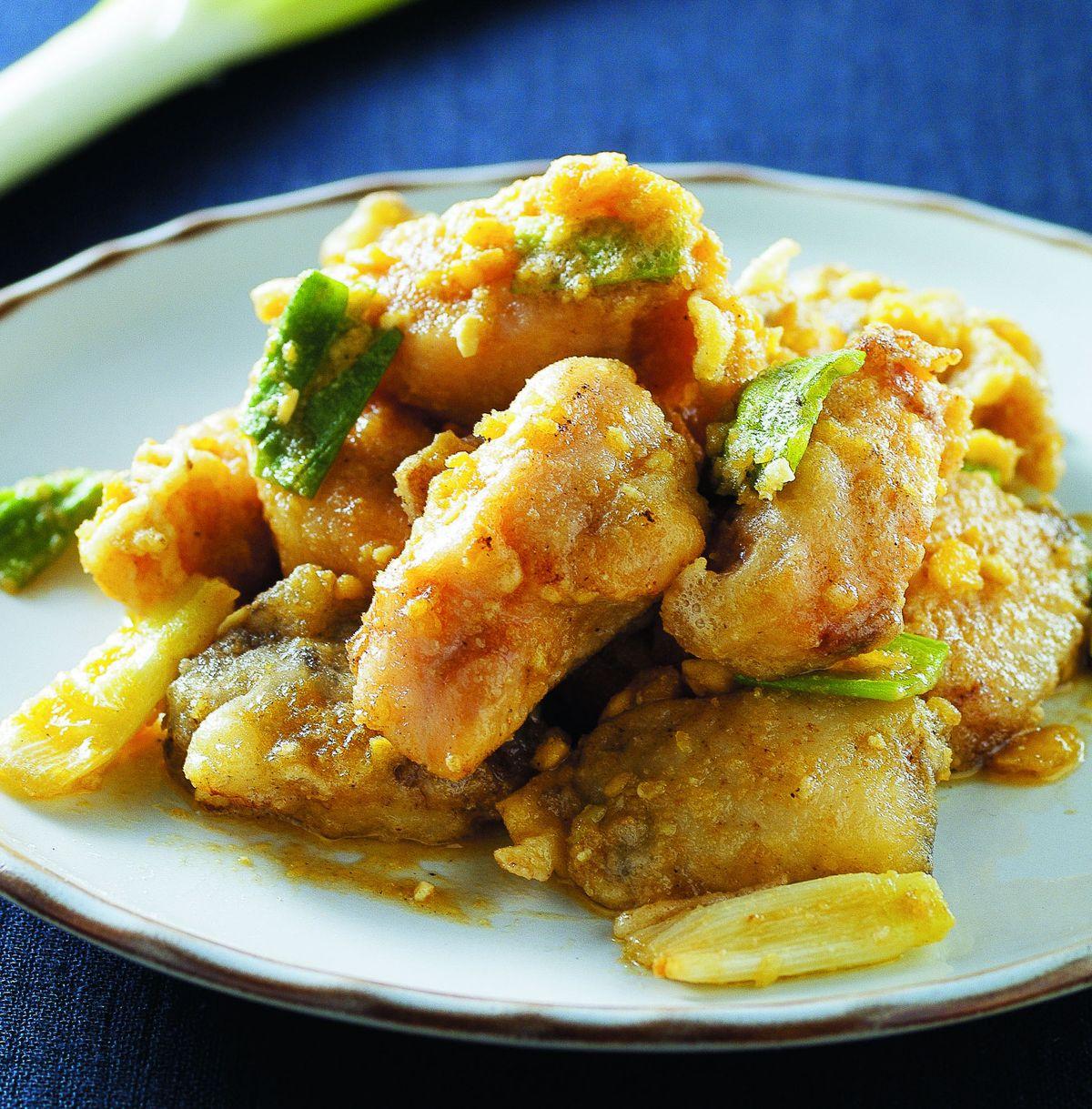 食譜:金沙魚片(1)