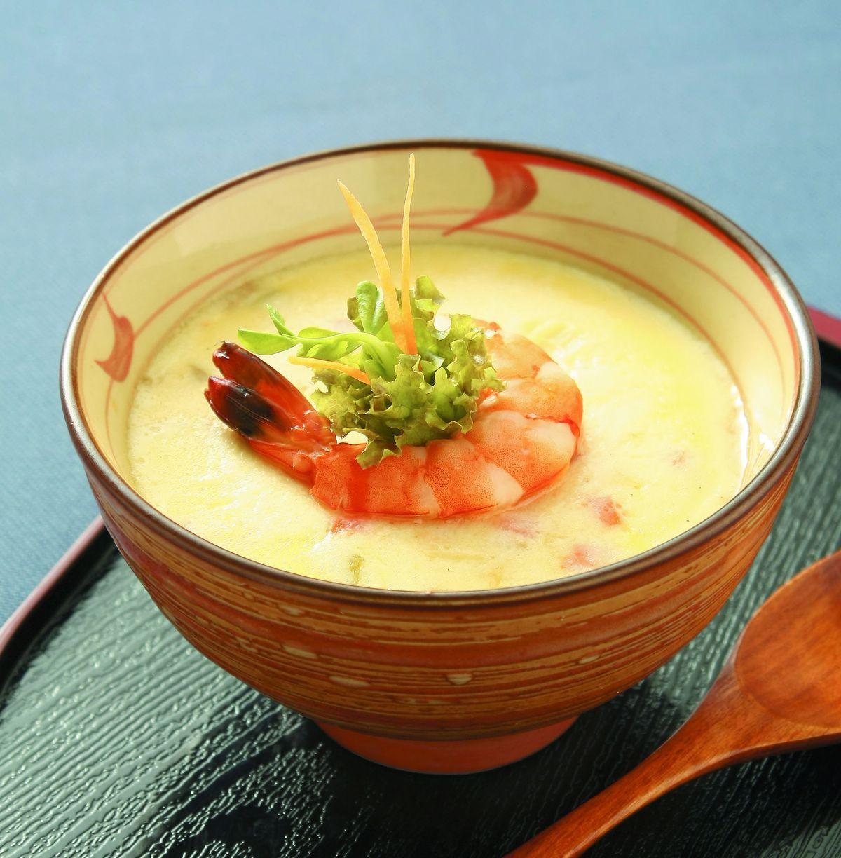 食譜:鮮蝦洋蔥蒸蛋