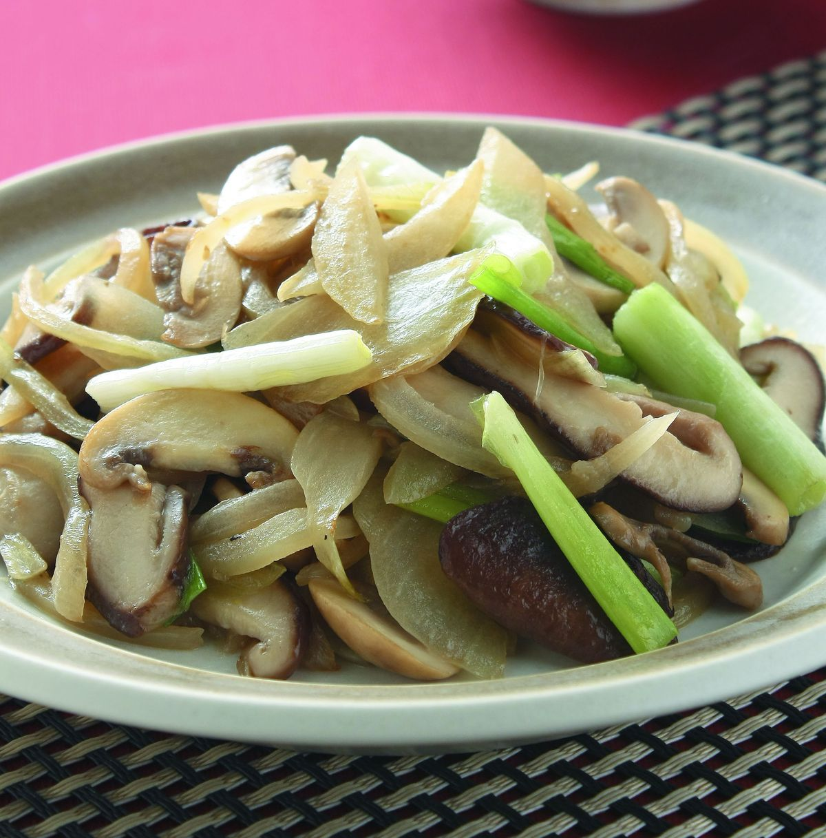 食譜:鮮菇炒雙蔥