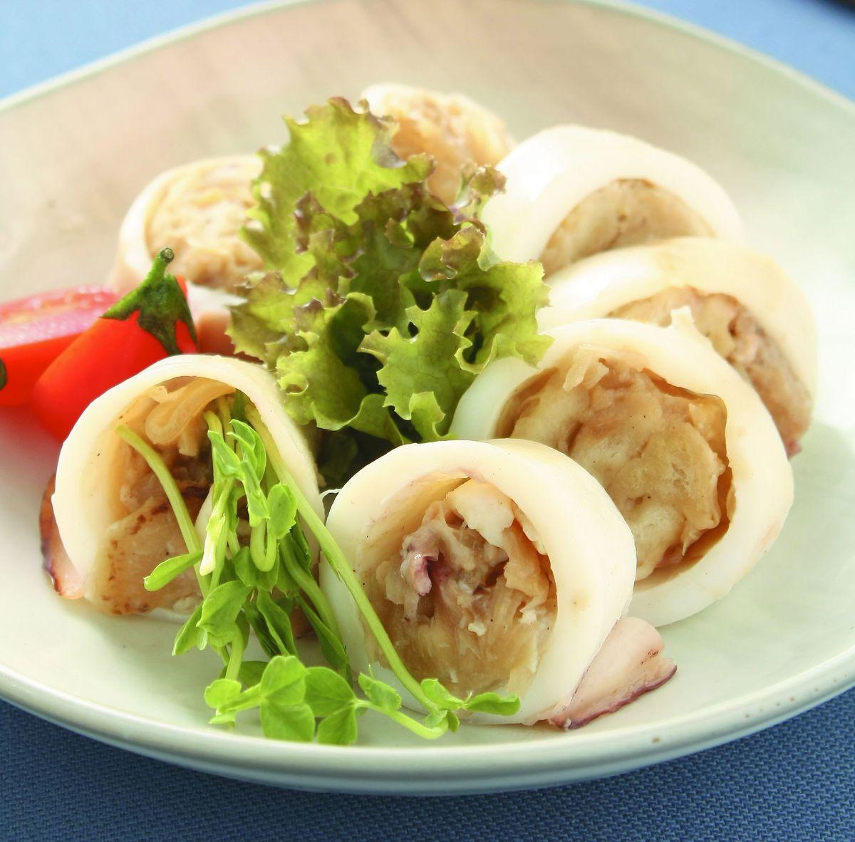 食譜:洋蔥鑲中卷