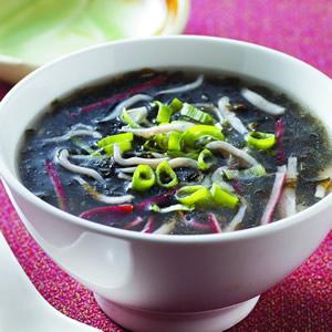 紫菜吻仔魚羹