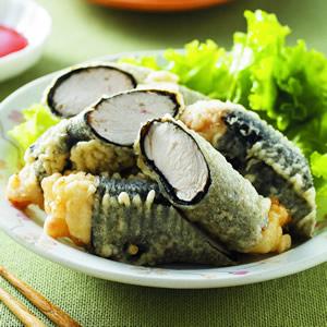 紫菜雞肉卷