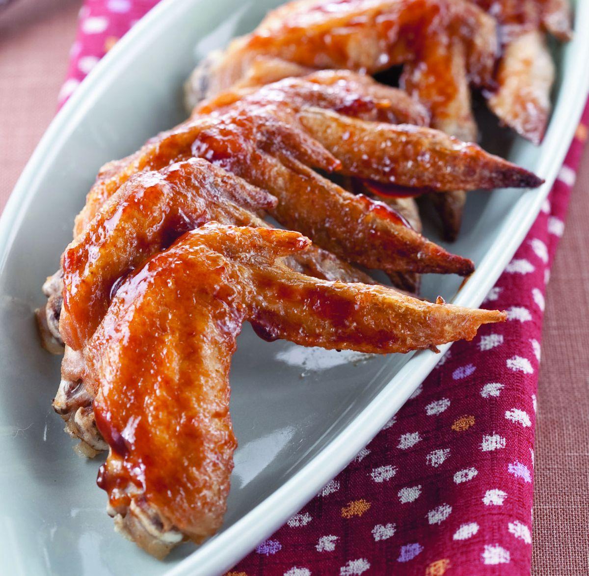 食譜:果香烤雞翅