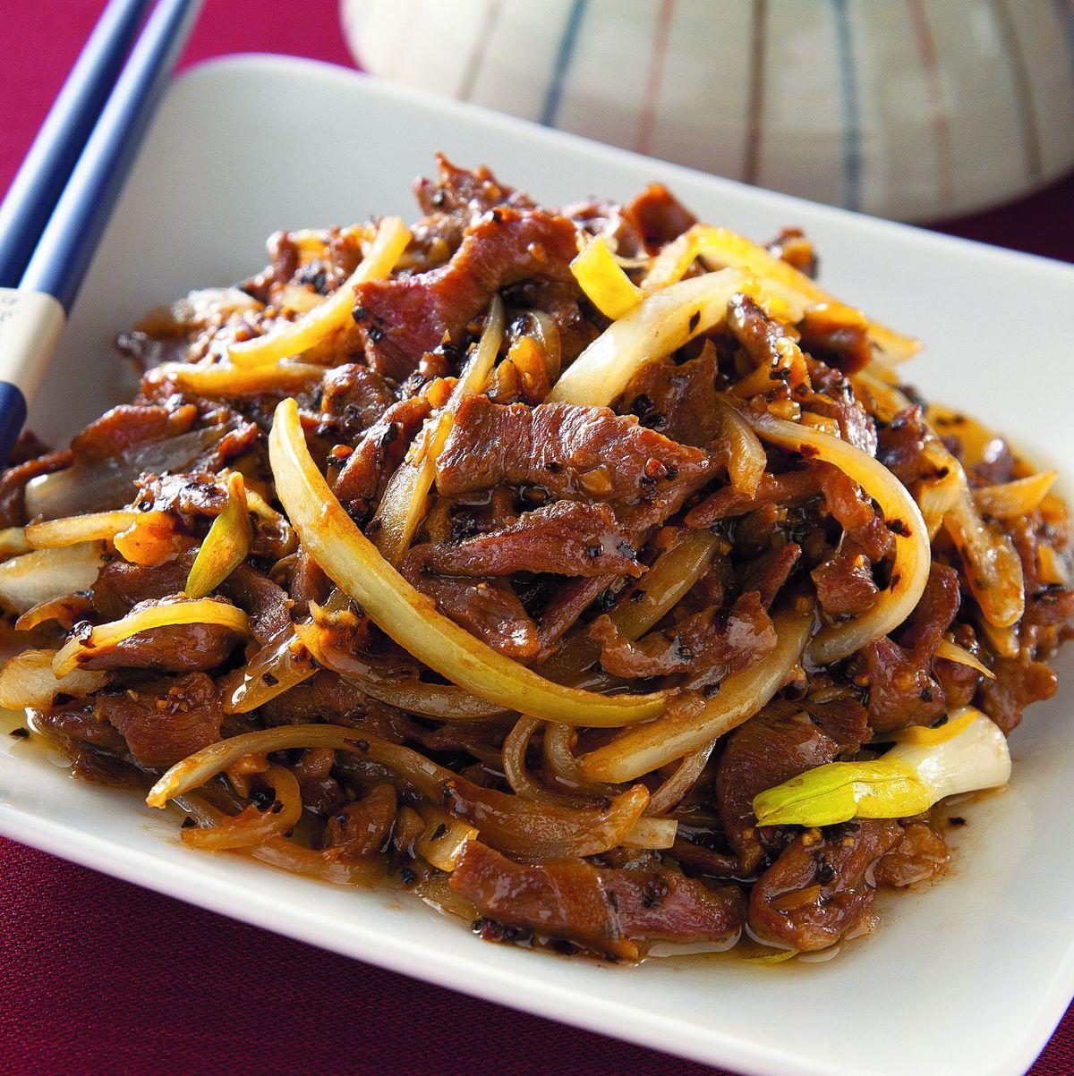 食譜:黑胡椒牛肉