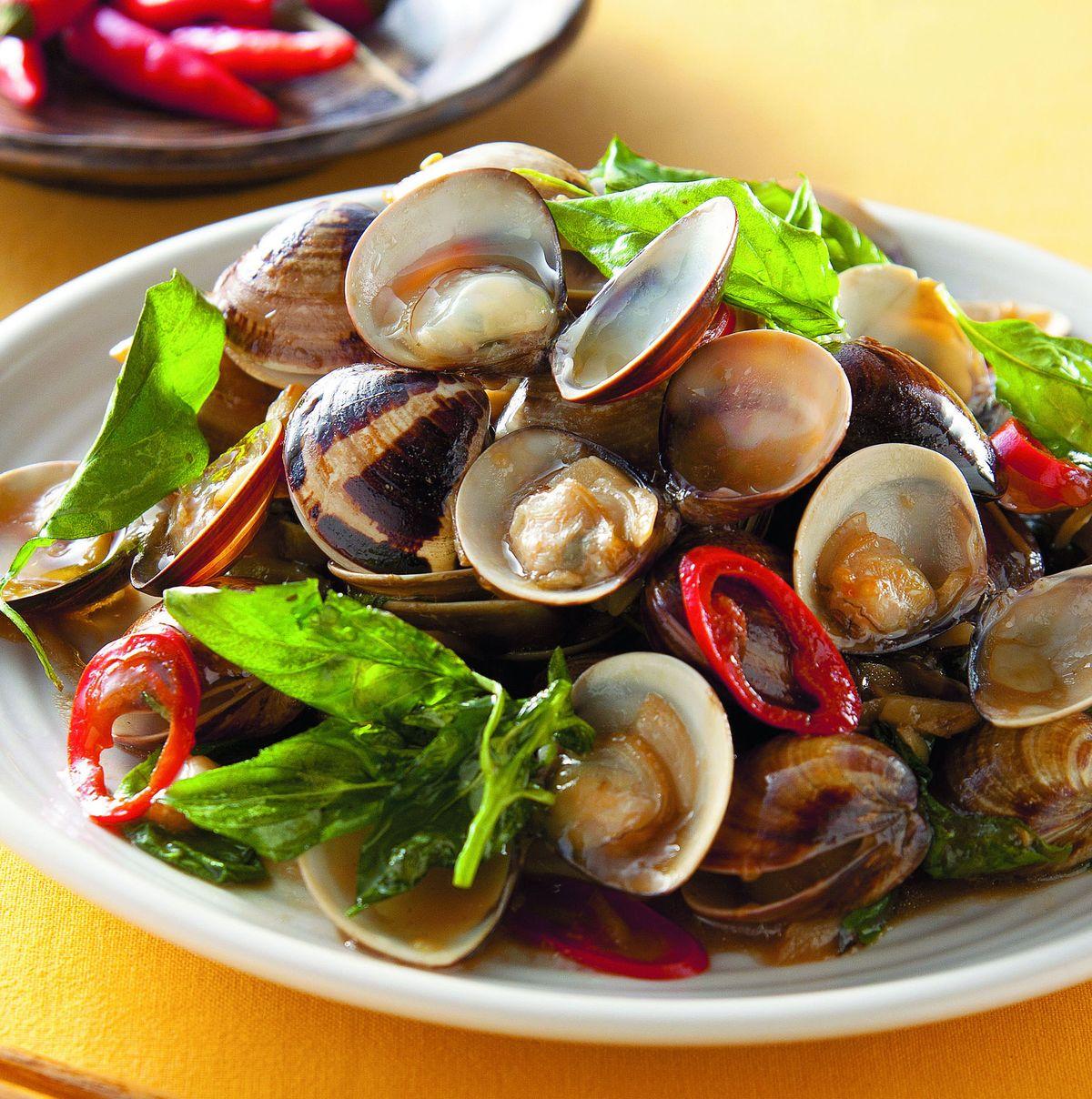 食譜:塔香炒蛤蜊(2)