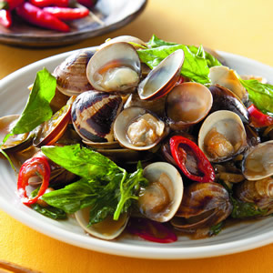 塔香炒蛤蜊(2)