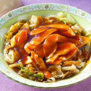 蠔油西生菜