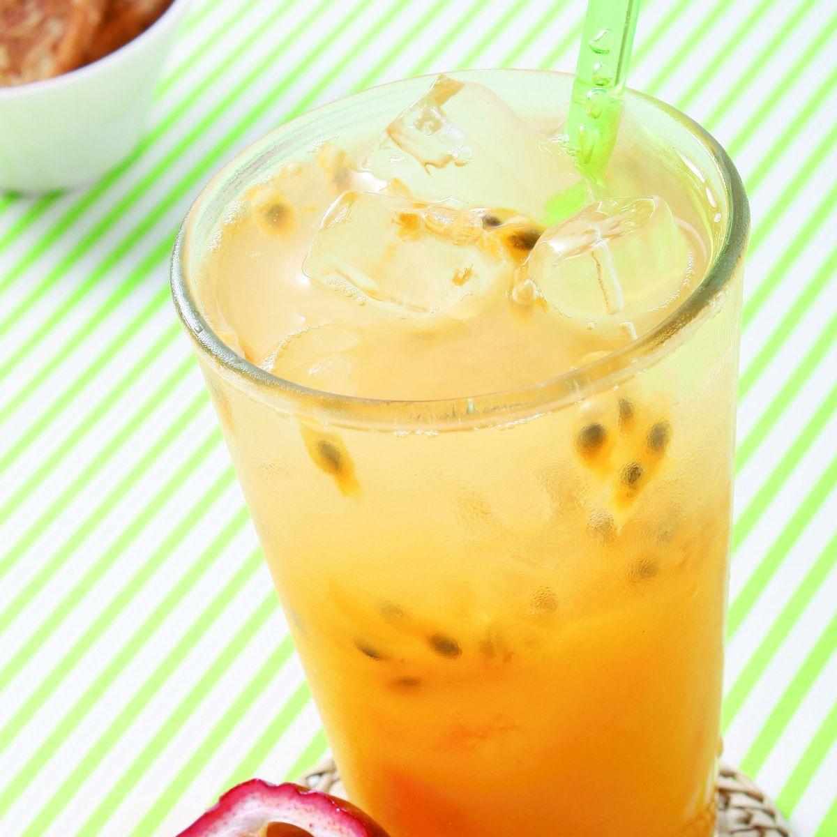 食譜:百香芒果青茶