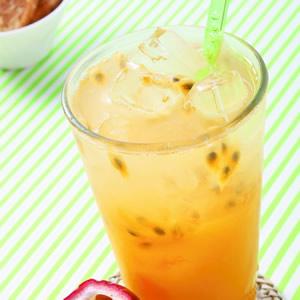 百香芒果青茶