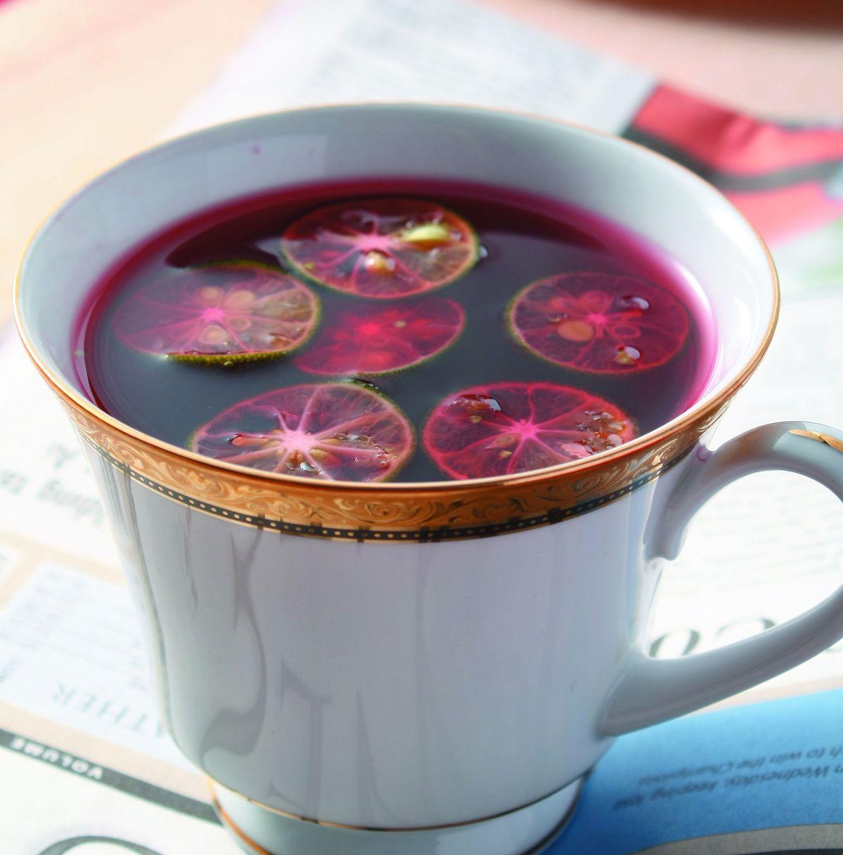 食譜:蜜桔花果茶