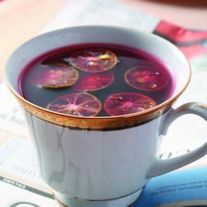 蜜桔花果茶