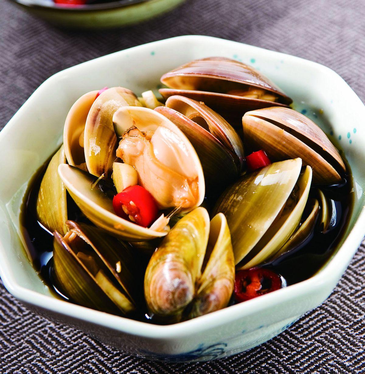 食譜:蒜味醃蛤蜊