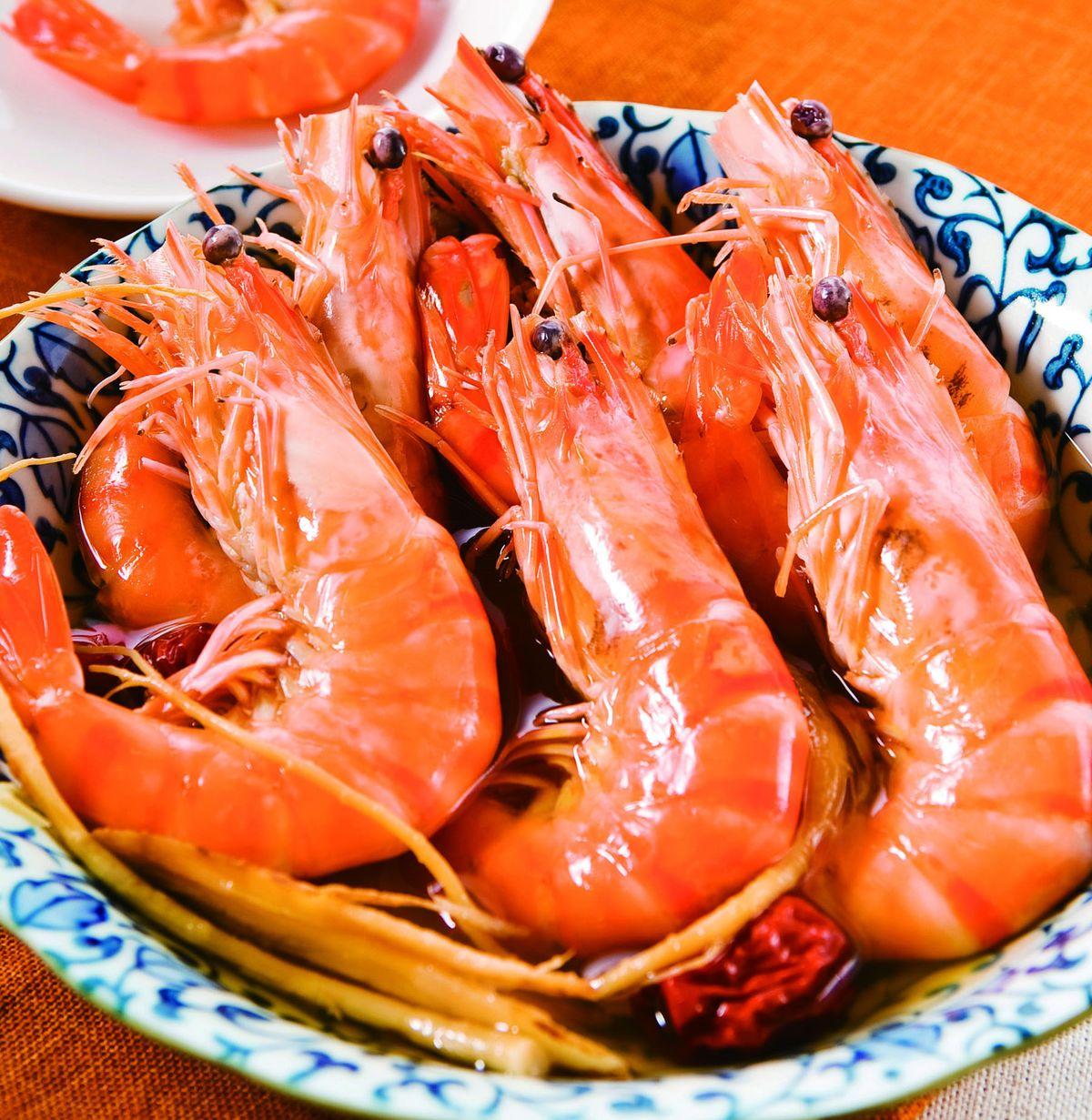 食譜:經典醉蝦