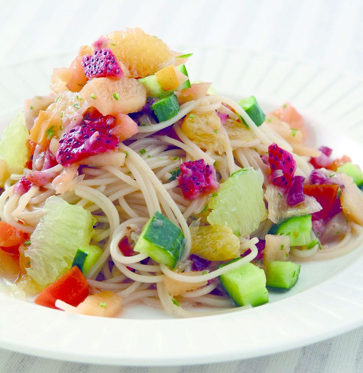 食譜:夏日水果義大利麵