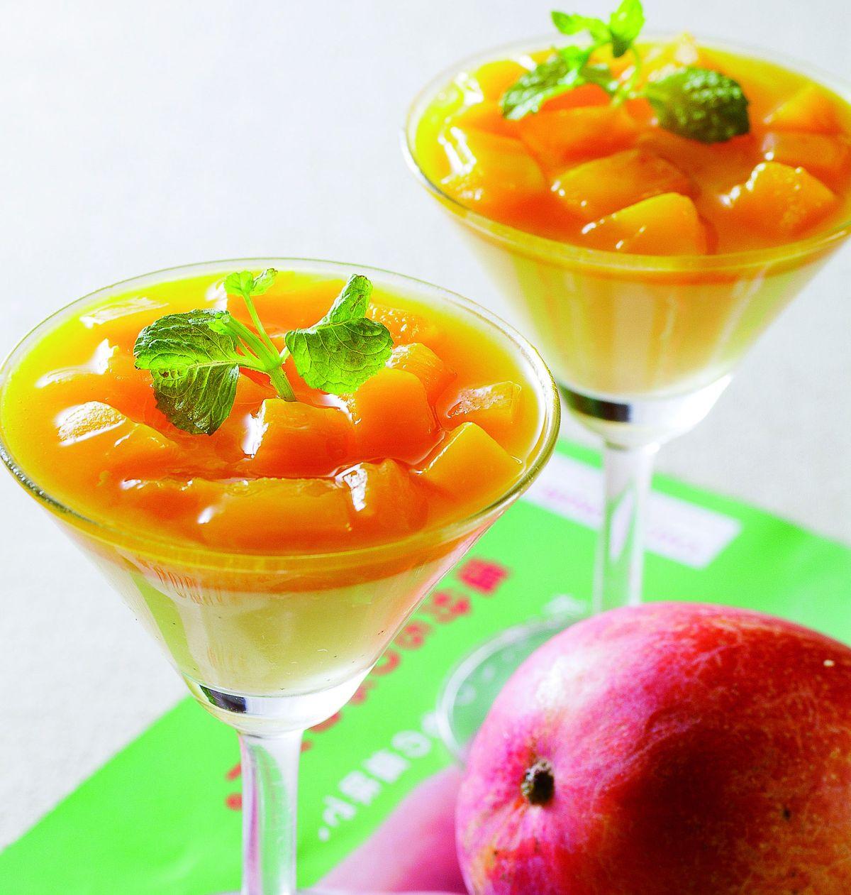 食譜:芒果奶酪(2)
