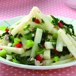 雪菜炒麻竹筍