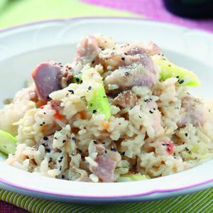 奶油雞肉燉飯(1)
