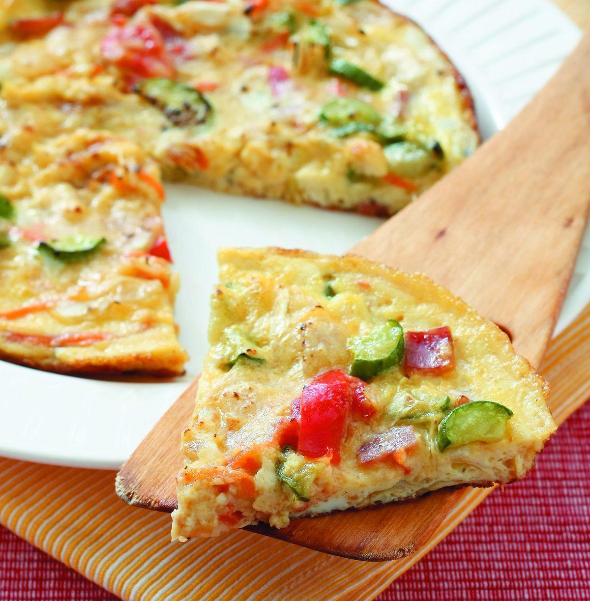 食譜:蔬菜烘蛋(1)