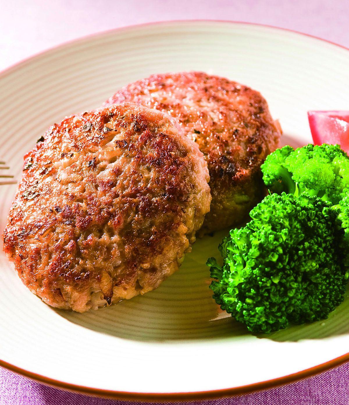 食譜:豬肉漢堡排(1)