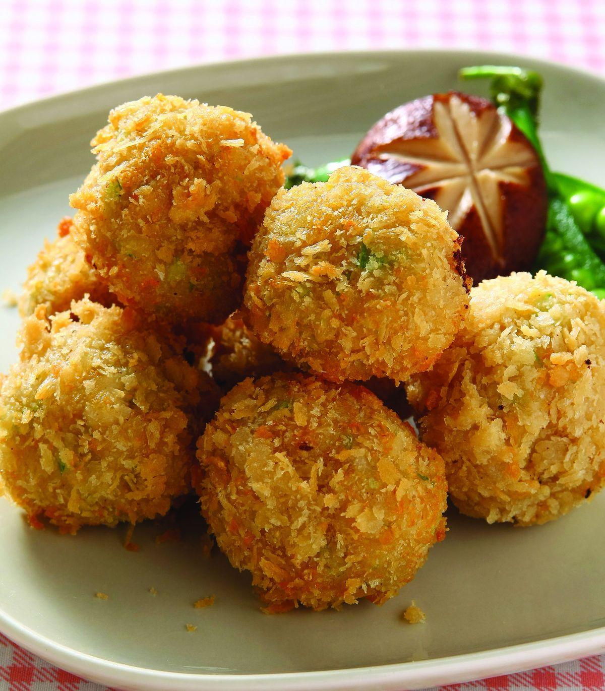 食譜:起士雞肉丸子