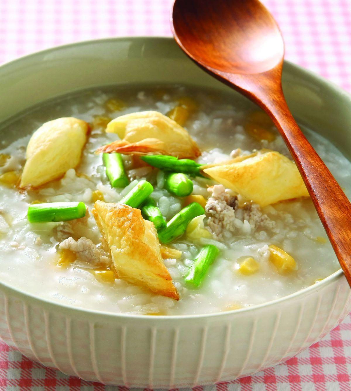 食譜:酥皮玉米粥
