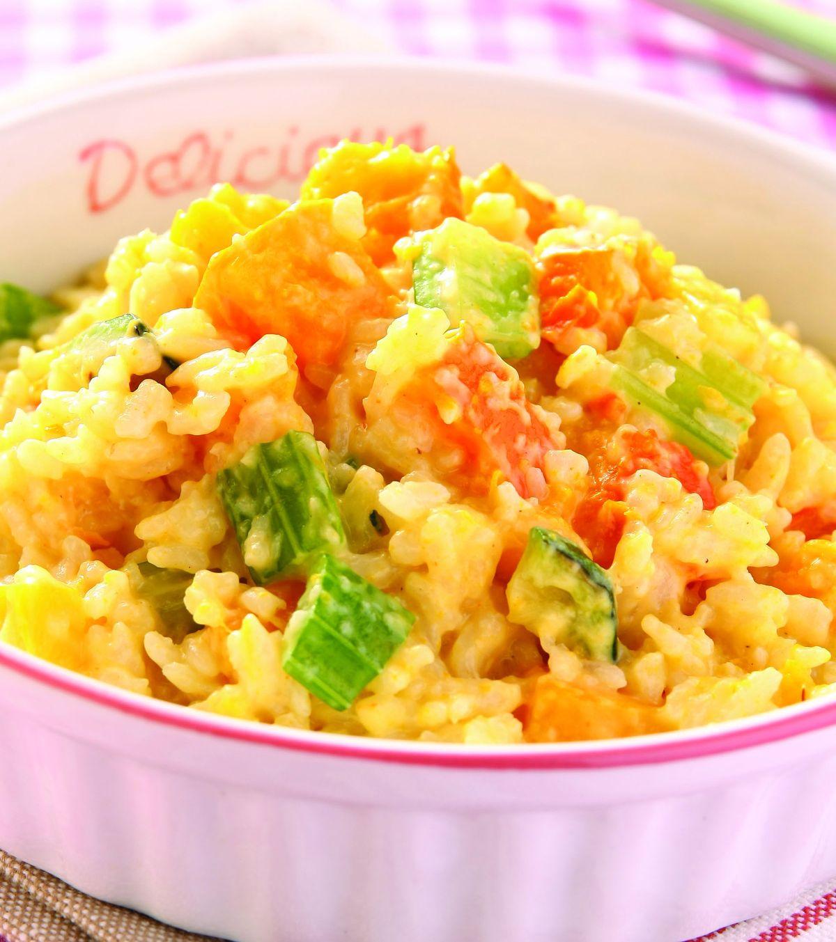 食譜:南瓜燉飯